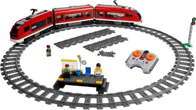LEGO 7938-1: Passenger Train - 'got it' list