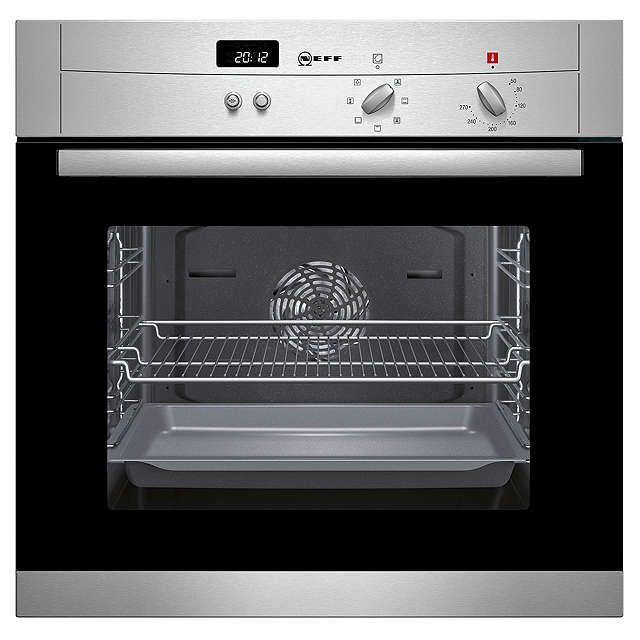 BuyNeff B12S52N3GB Single Electric Oven, Stainless Steel Online at johnlewis.com