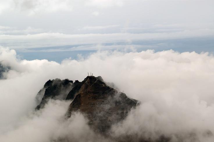 Grassberg Peak, Freeport Mine.  West Papua, Indonesia