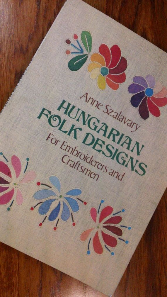 Hungarian Folk Designs for Embroiderers and by kitschannette