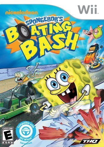 Featured Anytime Video Game: Spongebob Boating Bash - Wii Pre-Owned: $4.98: Goodwill Anytime featured item:… Free Standard Shipping