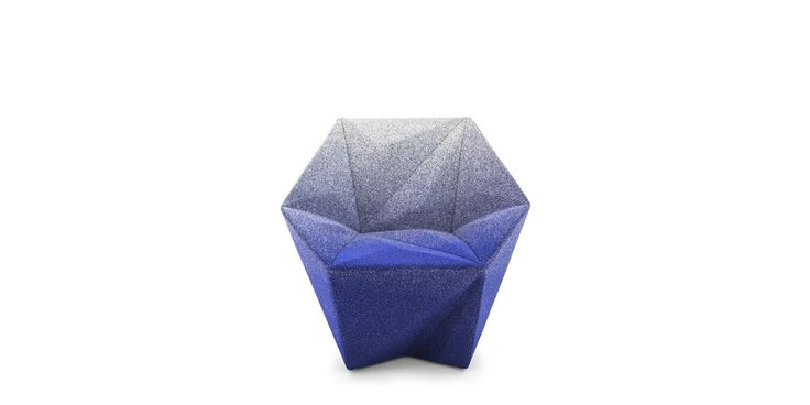 Resin treated polystyrene, flame-retardant foam. Glides in polypropylene. The small armchair GEMMA cover are not removable.