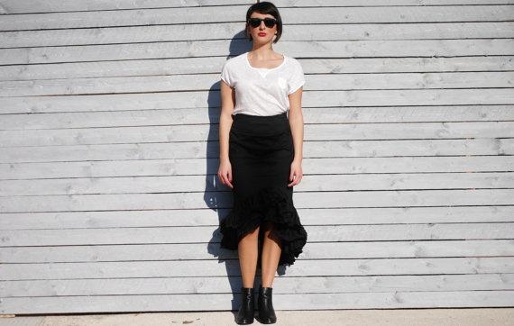 vintage flamenco skirt