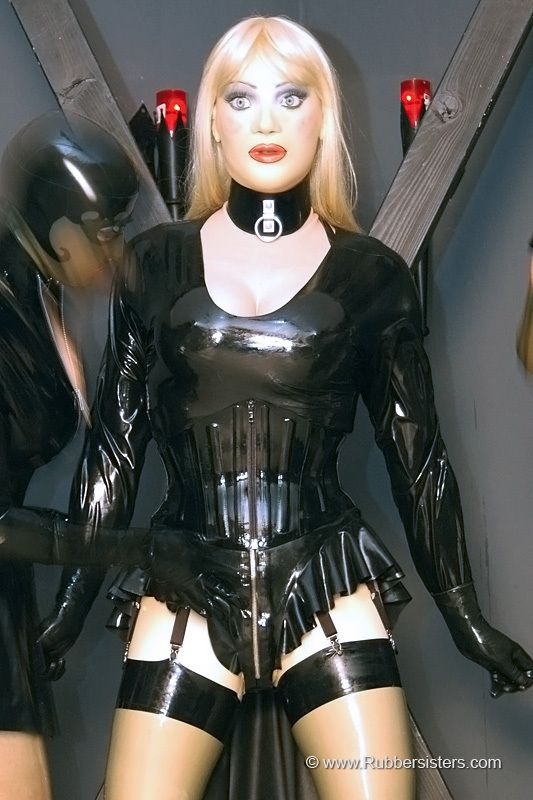 Nice! Beautiful female latex porn