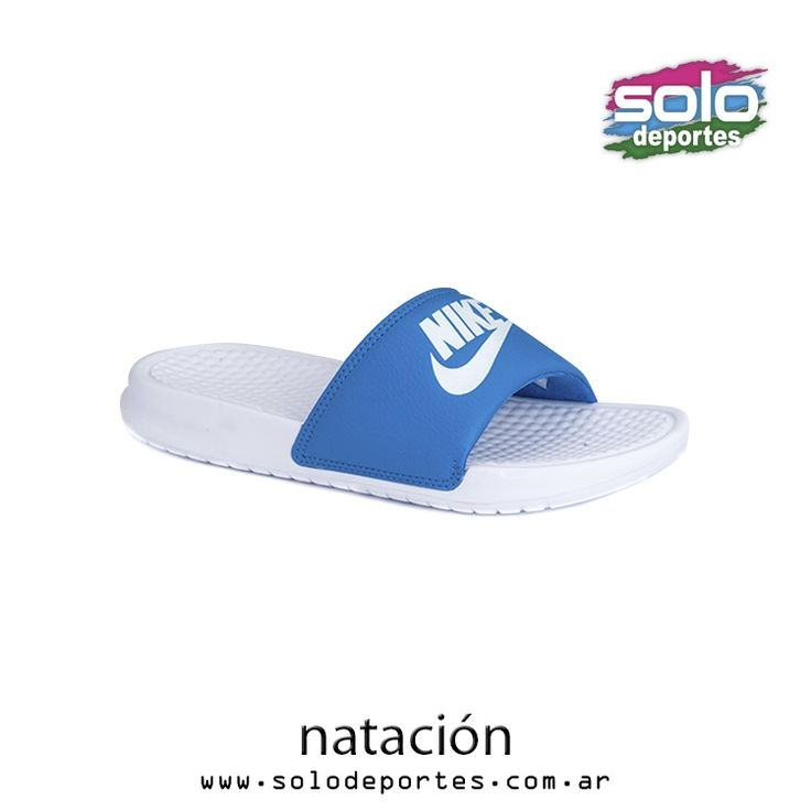 Benassi JDI W Blanco/Azul  Marca: Nike 510010603727100   $ 239,00 (U$S 40,85)
