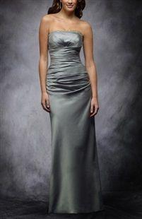 Grays A-ligne bretelles sans manches des robes de demoiselle d'honneur