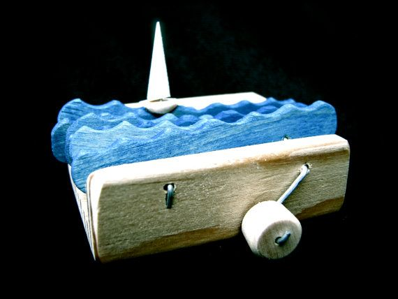 how to make a wooden sailboat toy