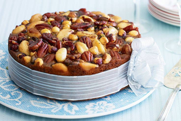 Christmas is coming so get into the spirit with this festive fruit and nut cake.