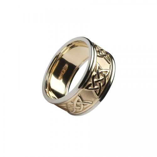 Yeats and Maud Gonne Ladies Ring-10K Gold Ladies