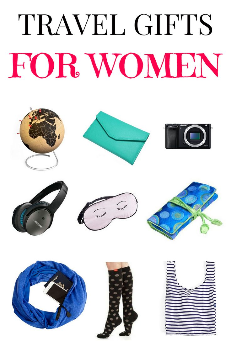 The best travel gifts for women for every budget.