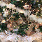 Festões artesanais para sua árvore de natal