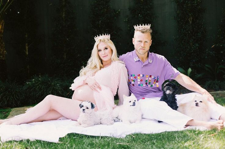 Heidi Montag and Spencer Pratt welcome their first child together Heidi Montag and husband Spencer Pratt have welcomed their little bundle of joy into the world. #ImaCelebrityGetMeOutofHere! #TheHills #MarriageBootCamp #HeidiMontag @TheHills