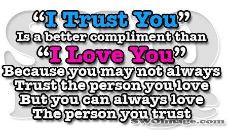 Trust vs Love