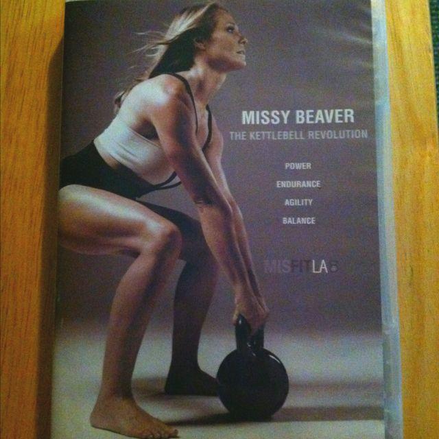 My sister's Kettlebell Workout DVD! Visit her website @ misfitla.com :)
