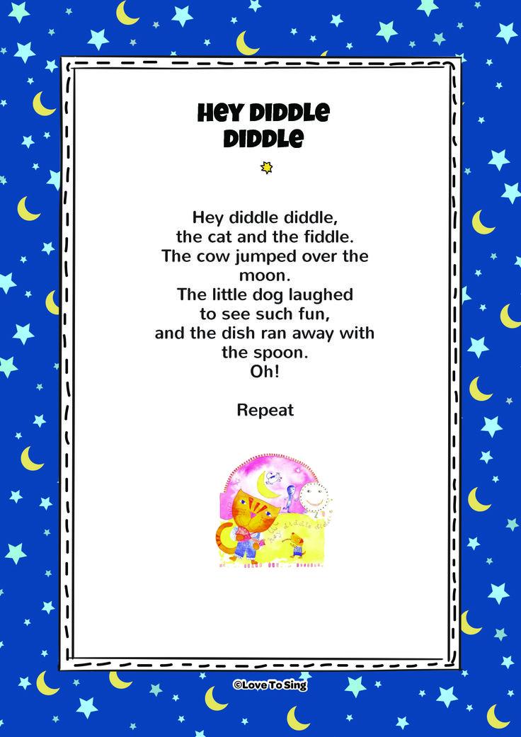Diddle dumpling lyrics