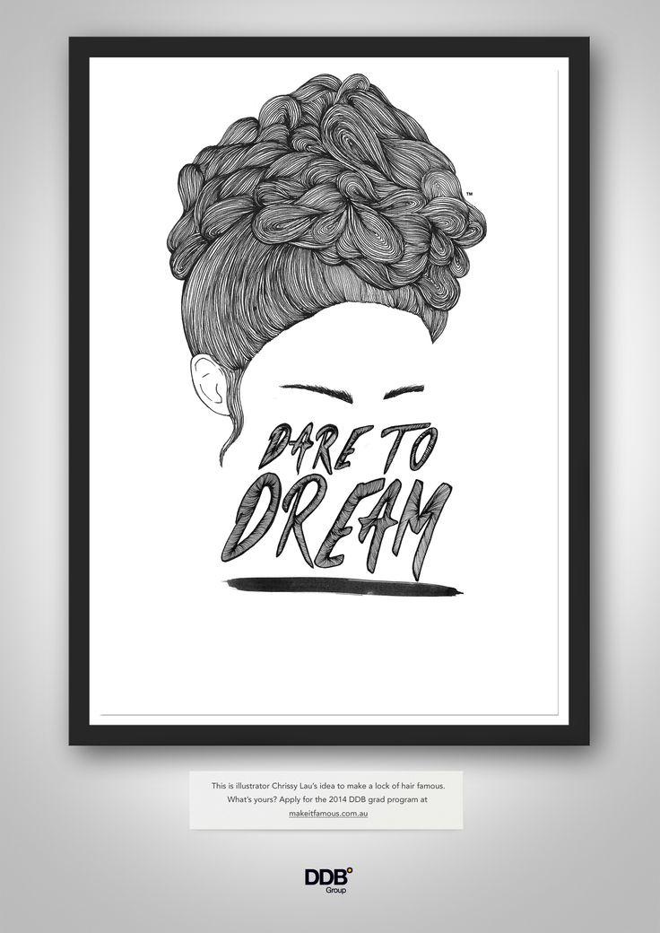 Lock of Hair by Chrissy Lau  illustrationroom.com.au/artist/chrissy-lau