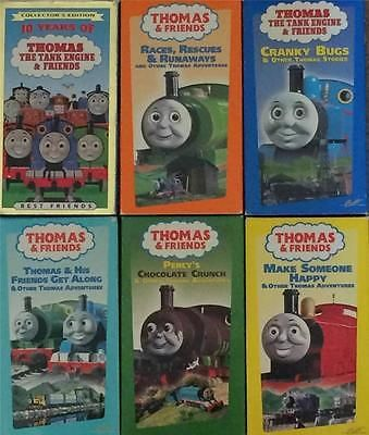 Thomas Friends Thomas the Tank Engine Thomas the Train Lot 6 VHS Videos for USD18.99 #DVDs #Movies #VHS #Friends Like the Thomas Friends Thomas the Tank Engine Thomas the Train Lot 6 VHS Videos? Get it at USD18.99!