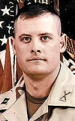 Army CPT. Robert C. Scheetz Jr., 31, of Dothan, Alabama. Died May 30, 2004, serving during Operation Iraqi Freedom. Assigned to 1st Battalion, 6th Infantry Regiment, Baumholder, Germany. Died of injuries sustained when his vehicle was hit by an improvised explosive device in Musayyib, Iraq.