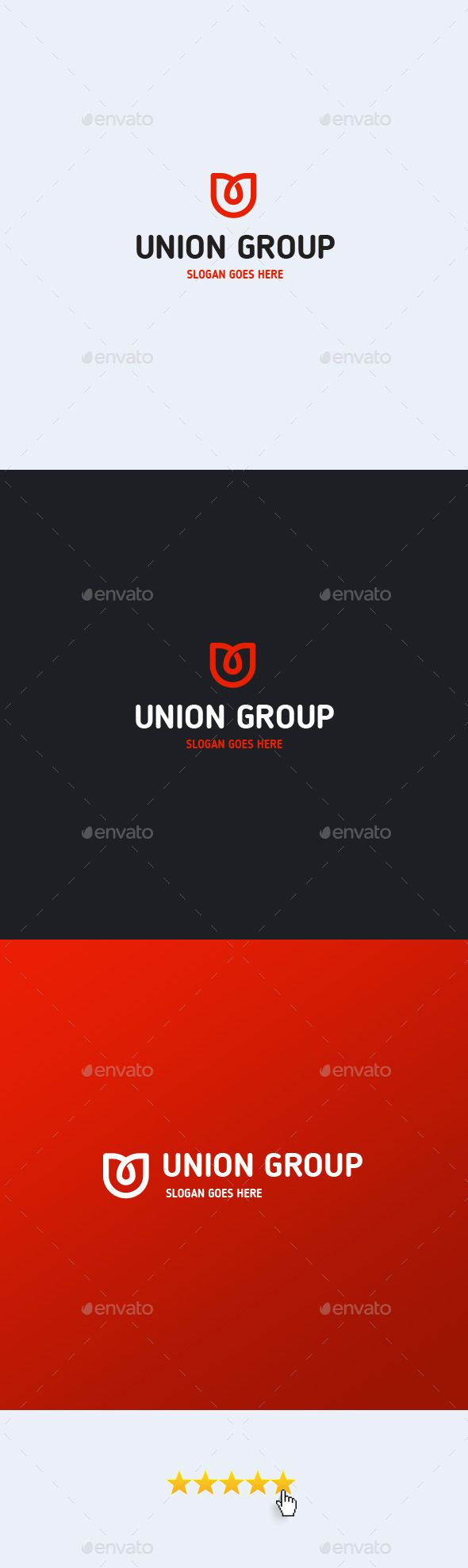 Union Group � Letter U - Logo Design Template Vector #logotype Download it here: http://graphicriver.net/item/union-group-letter-u-logo-template/12899803?s_rank=1074?ref=nesto