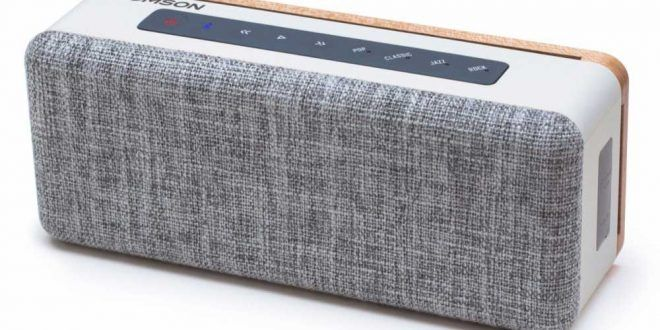 Thomson Unveils WS04, a Portable Wireless Speaker With Bluetooth