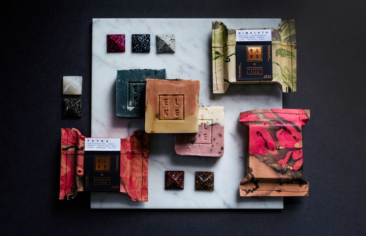 Elke Kramer handcrafted soaps – developed as a fundraiser for UNICEF. Photo – Hannah Blackmore.