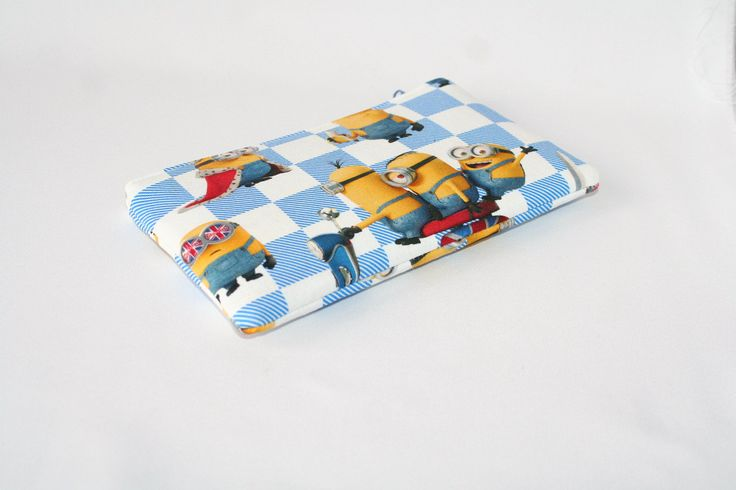 Minions England bag/pencil case/cotton pouch by Juicybag on Etsy