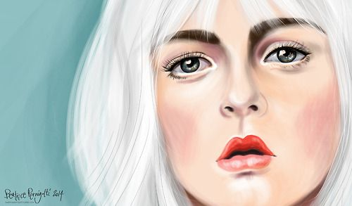 SHE… part of a bigger digital painting