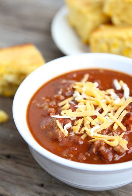Dad's Spicy Chili - Add some spice to your life (and plate) with Joan of Arc beans! | joanofarc.com #chili #beans #joanofarc #spiceupyourlife