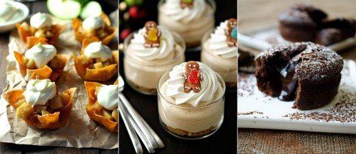 Schokolade, Zimt-Äpfel, Cheesecake ... noch Fragen?