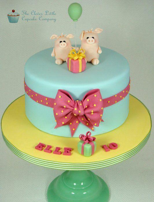 Girls Sty Birthday Cakes