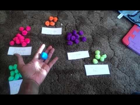 Atoms and molecules activity - YouTube Messy but I like the manipulatives concept