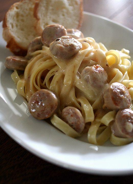 Gorgonzola & Sausage  / Pasta