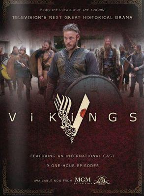 Vikings, urmareste aventurile lui Ragnar Lothbrok, cel mai mare erou al vremurilor sale. Serialul urmareste viata si actiunile bandei de vikingi dar si a familiei lui Ragnar, si drumul sau catre tronul triburilor vikinge. Pe langa faptul ca este un luptator neinfricat, Ragnar imbratiseaza traditiile si devotamentul catre zei, legenda spunand ca era un descendent direct al lui Odin, zeul razboiului si al razboinicilor.