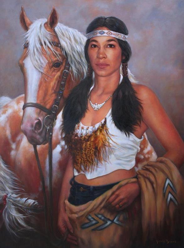 Pony Maiden Canvas Print / Canvas Art by Harvie Brown