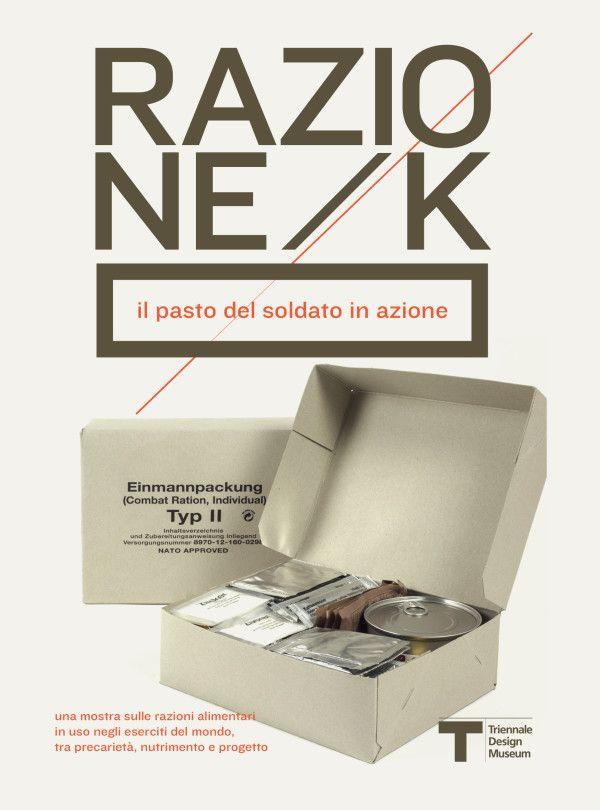 Razione K / Giulio Iacchetti - Il pasto militare in mostra