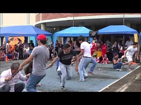 Juegos entre Padres Olimpiadas 2015 - YouTube