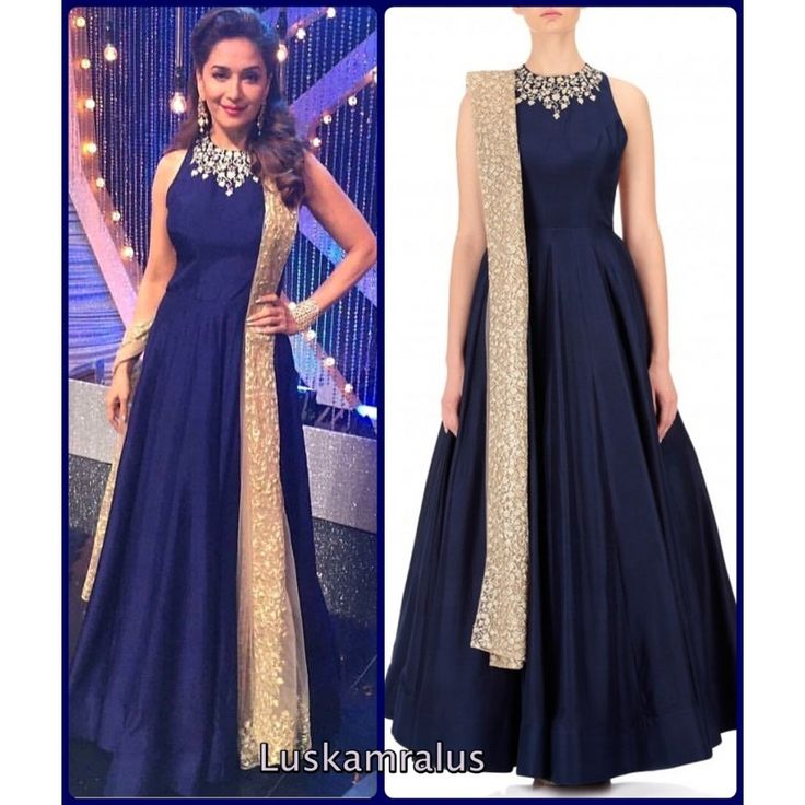 Marvellous Navy Color Heavy Embroiderey Work Semi Stitch Gown at just Rs.1395/- on www.vendorvilla.com. Cash on Delivery, Easy Returns, Lowest Price.