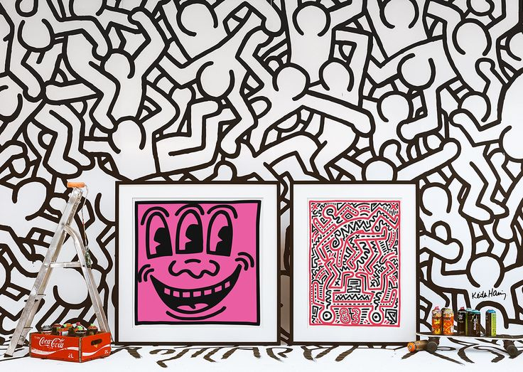 Discover #KeithHaring's art: http://www.easyart.com/prints/keith-haring