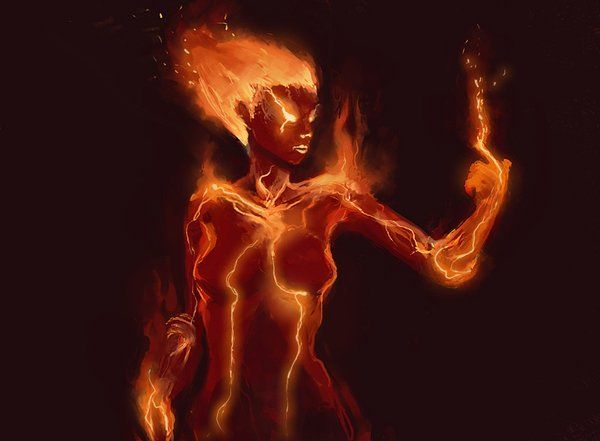 1000+ images about fire elemental on Pinterest | Devil, Me ...Female Fire Elemental