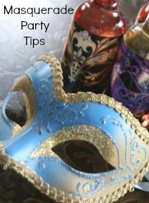 #Masquerade Party tips & ideas   by Faith Gauthier of TheInspiredEdge