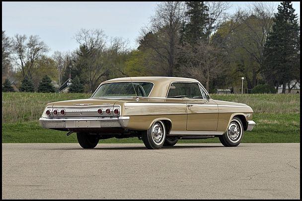 1962 Chevrolet Impala Anniversary Edition 409 CI presented as lot S60 at Indianapolis, IN 2012 - image2 #chevroletimpala2012 #chevroletimpala1962