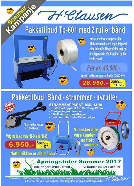 H. Clausen AS: Sommerkampanje på prisgunstige kvalitetsprodukter ...