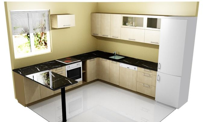 Knapp Sonoma tölgy színű, matt konyhabútor