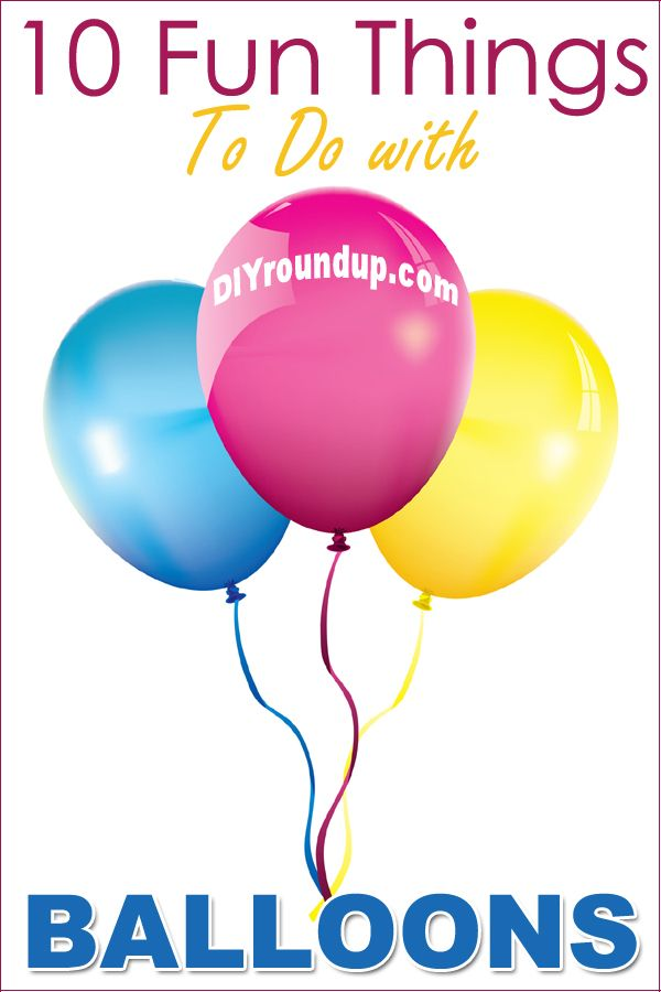 425 best images about children 39 s holiday crafts on for Cool things to do with balloons
