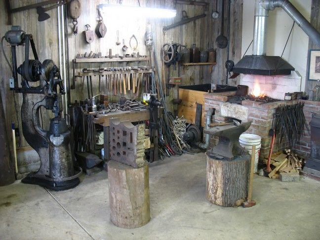 blacksmith shop layout - Google Search