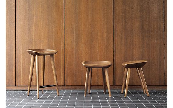 Tractor Stool with just enough seat contour to provide the comfort and security of a chair, with the convenience of a stool.