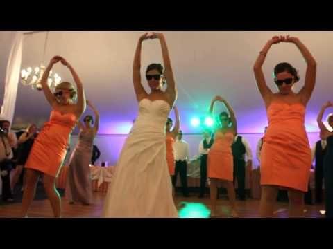 Best First Dance Flash Mob Goodman Wedding 542013