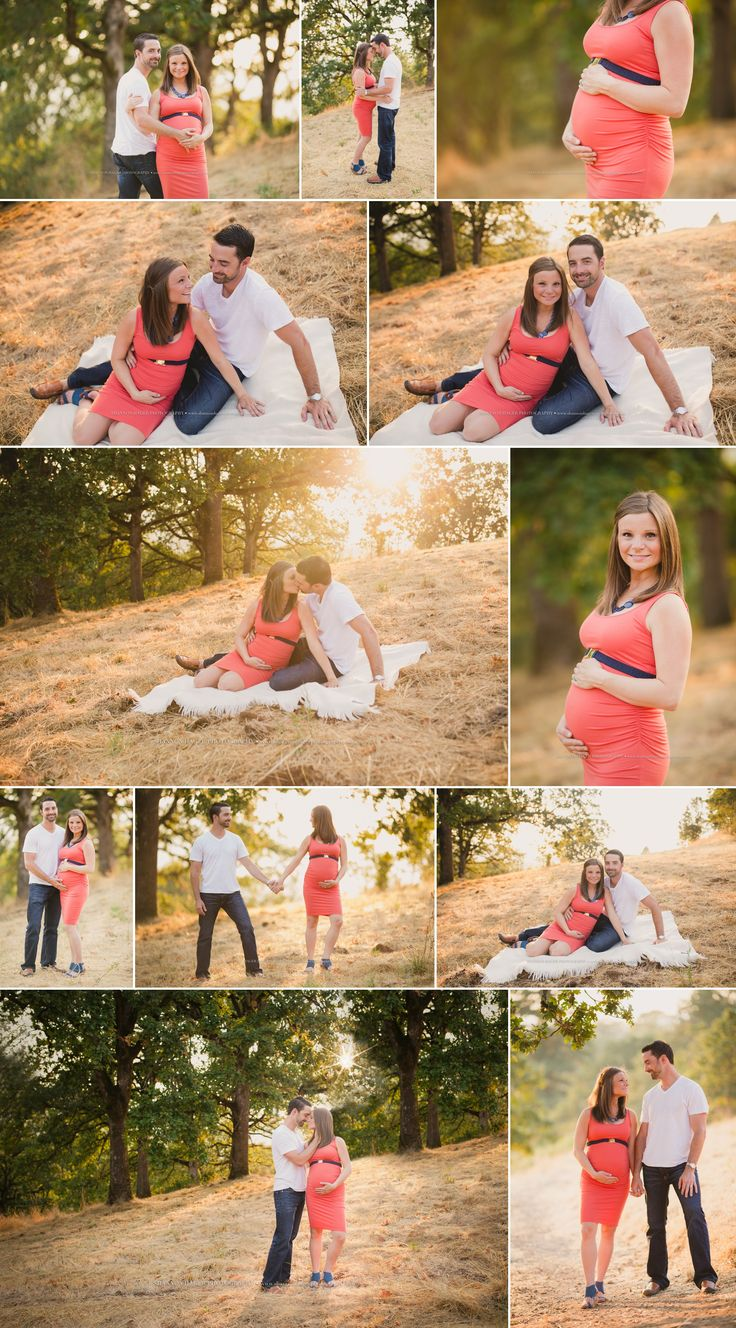 Sunset Summer Maternity Session Outdoors, Portland Maternity Photographer, Shannon Hager Photography