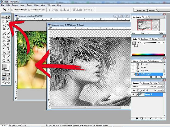 How to Create a Halftone Effect in Adobe Photoshop 7: 10 Steps