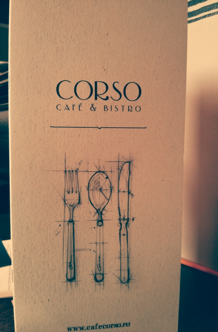 We are ready with the new menu. Are you ready to try it?   www.cafecorso.ro